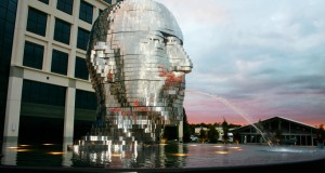 Charlotte's Spinning Metalmorphosis Fountain Is Amazing The World (Video)