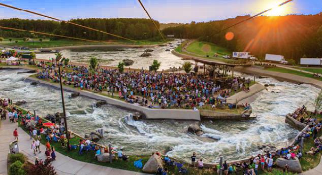 whitewater center river jam