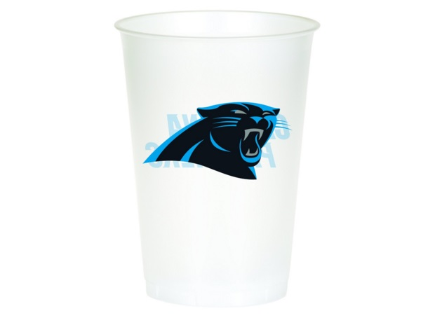plastic panther cups gifts for panthers fans