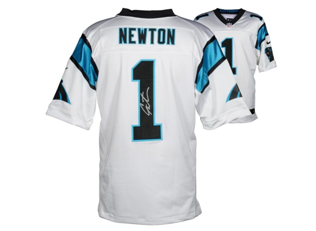 signed cam newton jersey gifts for panthers fans