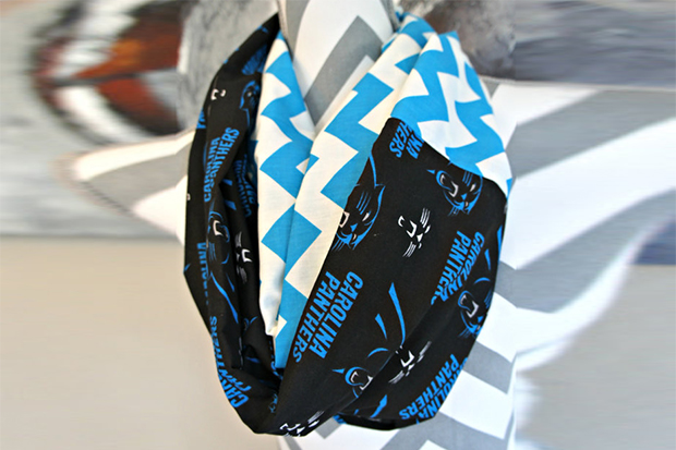 panthers infinity scarf panthers gear