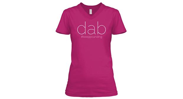 womens dab on em shirt