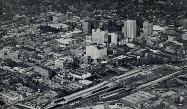 uptown charlotte 1930s
