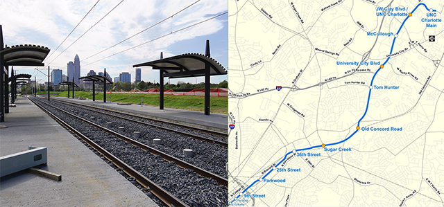 charlotte light rail extension