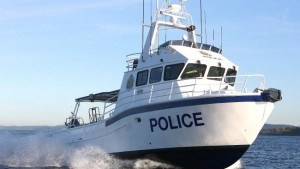 cornelius new 25-foot police boat