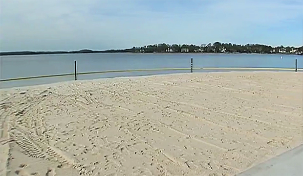 Mecklenburg Co About To Open Its First Public Beach ...