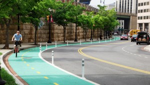 protected bike lanes charlotte