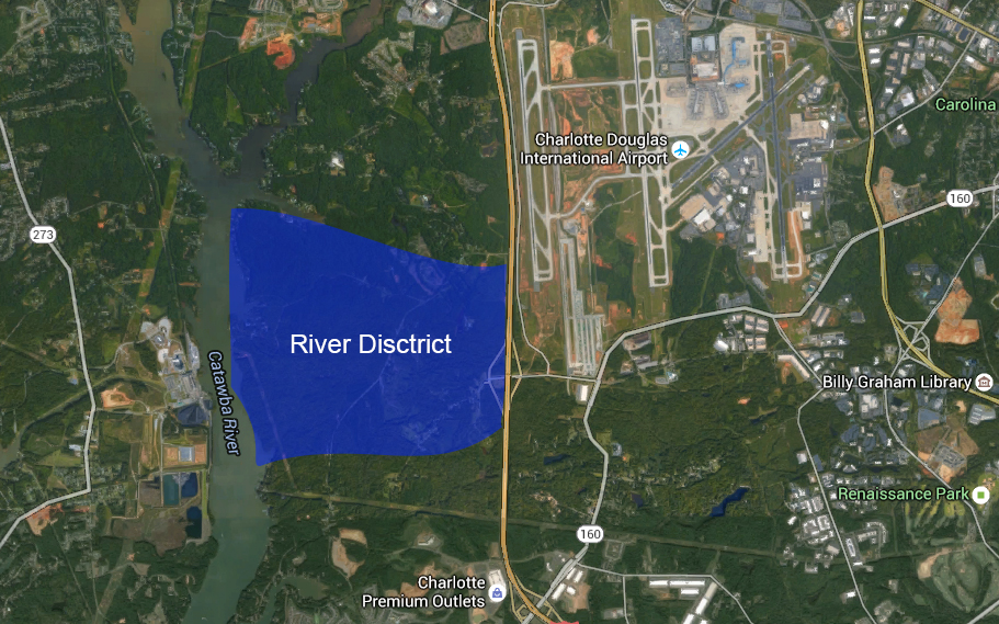 New 1,300 Acre Development on Charlotte's West Side Will Rival Ballantyne and South Park ...