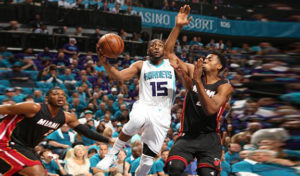charlotte hornets play the heat in miami