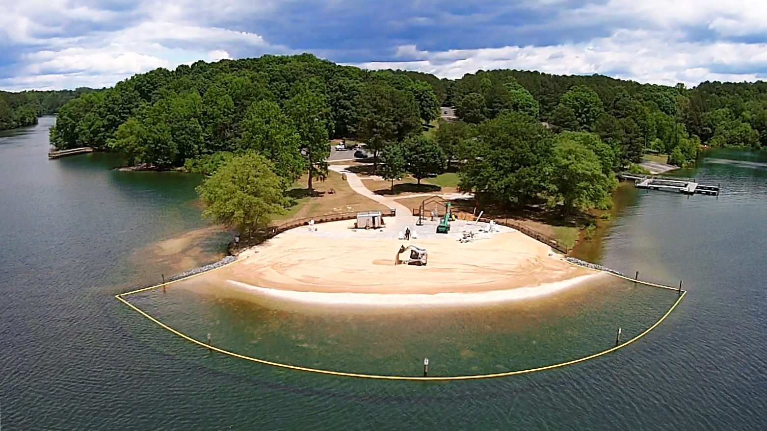 Mecklenburg County Opening Its First Public Beach This Weekend Charlotte Stories