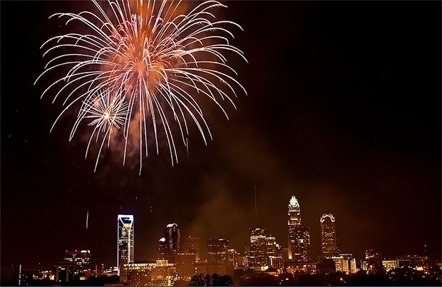 charlotte fireworks 4th of july