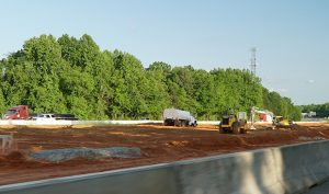 i77 - toll road construction stopped