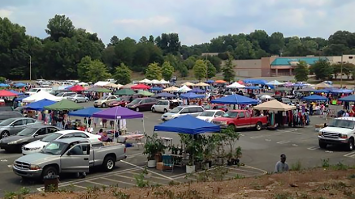 charlotte open air market