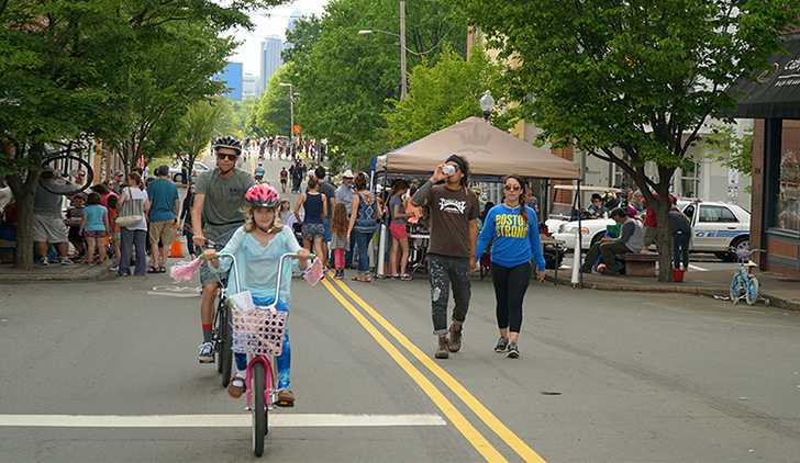 Open Streets 704 charlotte stories noda