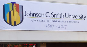 johnson c smith 150 years