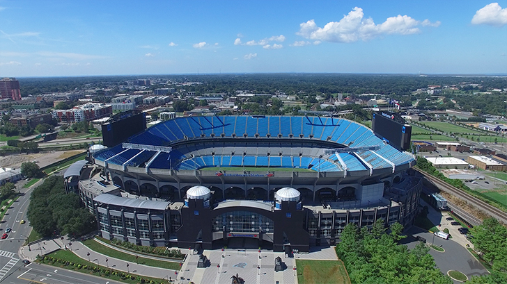 panthers stadium charlotte