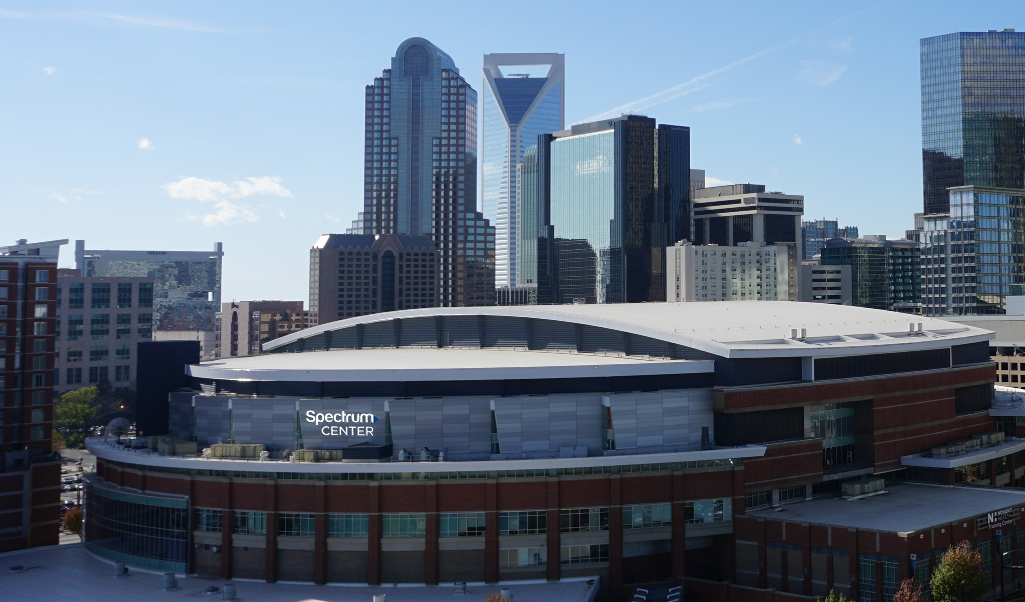 The Time Warner Cable Arena Is Officially Changing Its