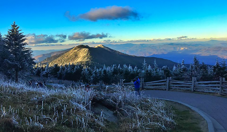 top of Mt. Mitchell  10/23/2016
