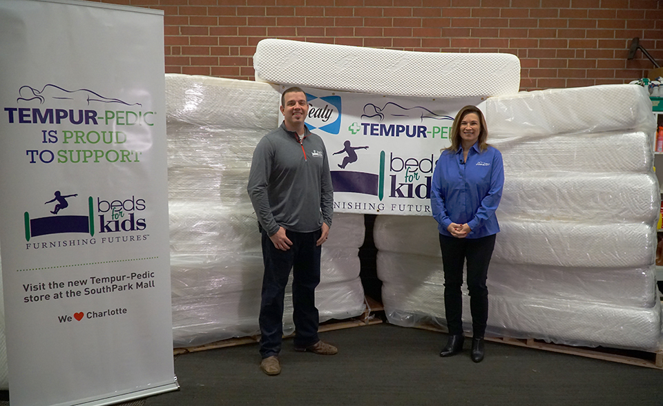 tempur pedic store. Tempur-Pedic Just Partnered With Beds For Kids To Help Over 100 Children In Charlotte - Stories Tempur Pedic Store