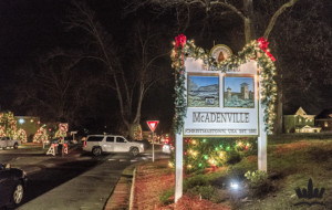 Mcadenville Christmas Lights.Gaston County S Christmas Town Usa Nominated For Best
