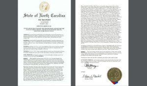 mccrory executive order moving state boundary