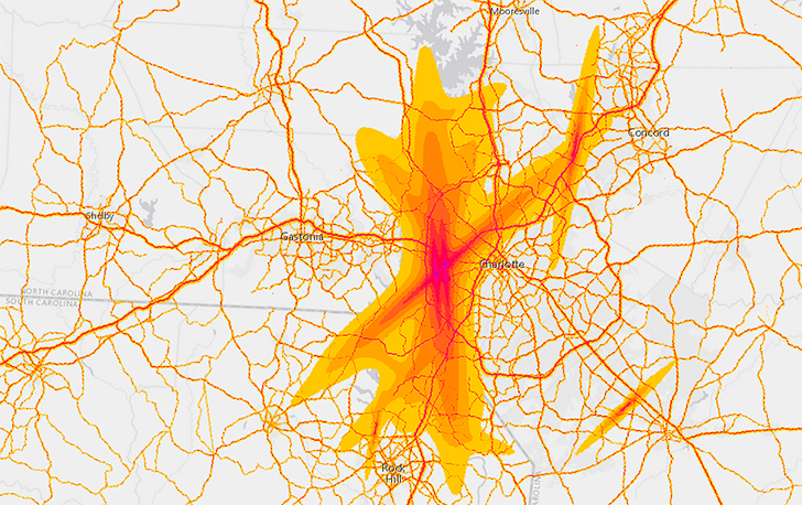 Charlotte Douglas Changes Flight Patterns And Which Neighborhoods