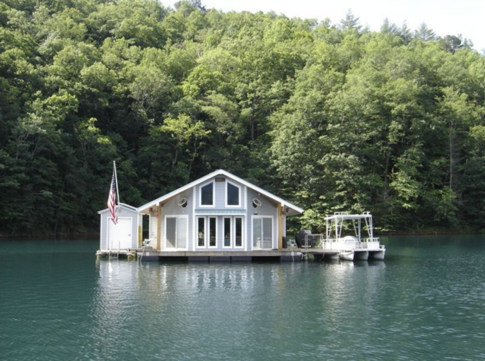 Top 10 North Carolina Homes Literally Quot On The Water Quot You
