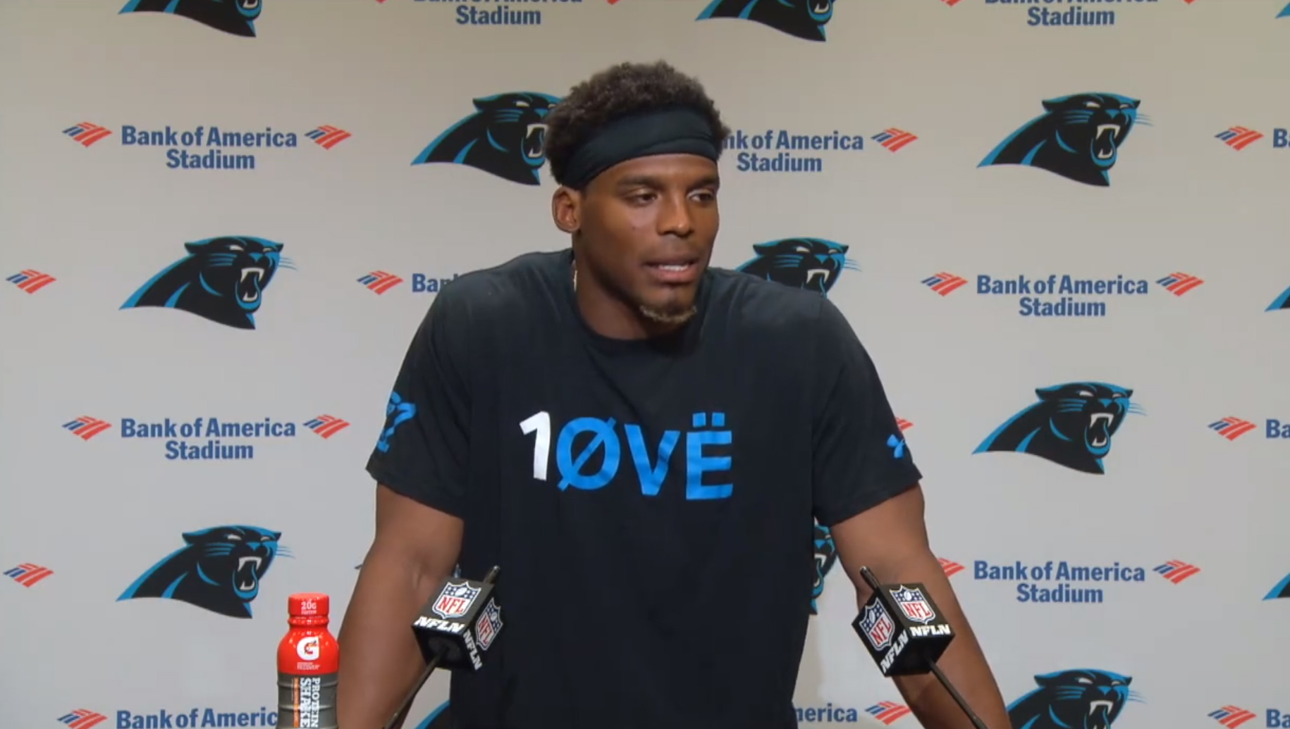 Panthers to sit Cam Newton for match with Atlanta