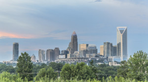 Charlotte was ranked the #1 most up and coming city in america