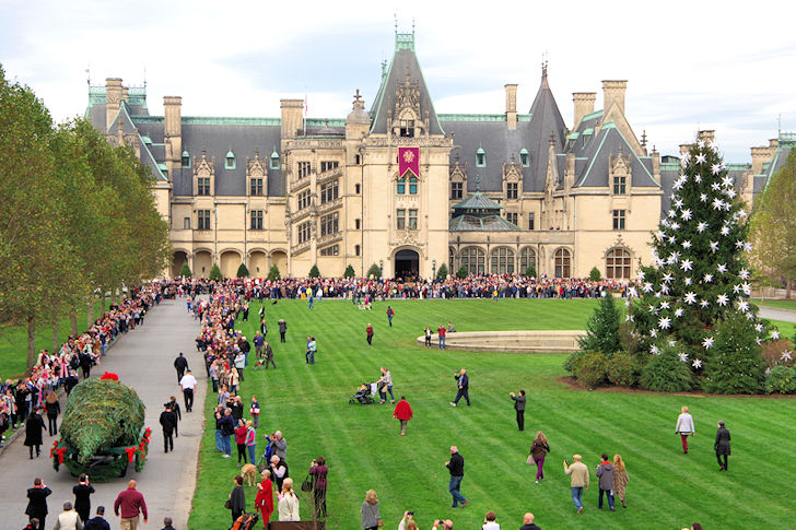 Biltmore Christmas.Exclusive First Look Inside Christmas At The Biltmore