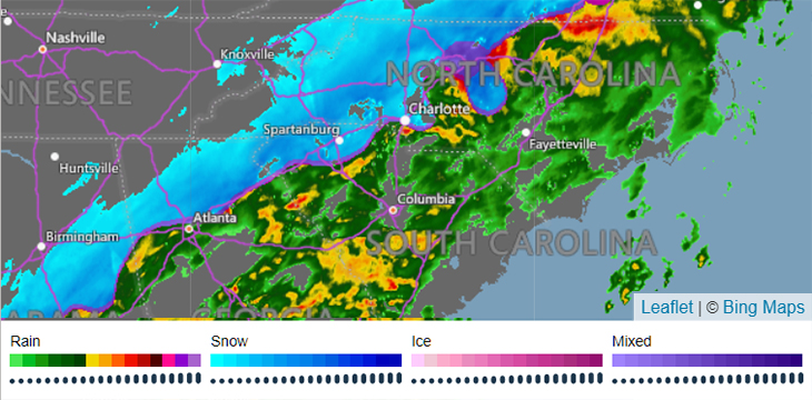 Charlotte Is Now Under A Winter Weather Advisory Charlotte Stories
