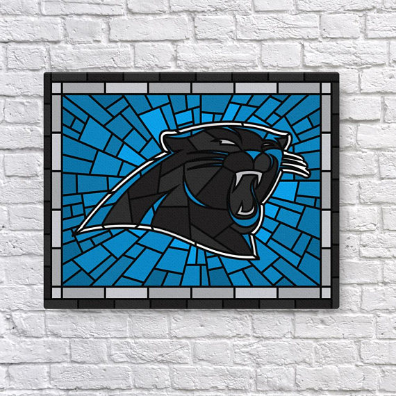 10 Panthers Printed Canvas