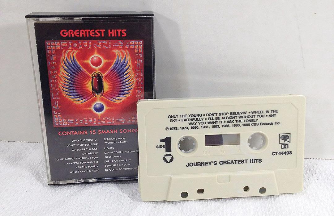 Resultado de imagem para cassette tape journey