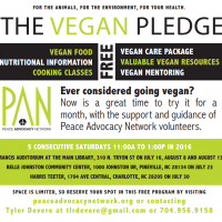 PAN Vegan Pledge